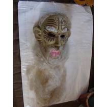 Mascara Anciano En Madera Muy Bonita Decoracion , Como Apare