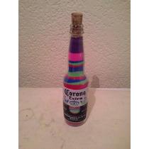 Botella De Corona Decorada Coleccionable (328)