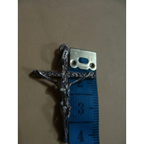 Excelente Crucifijo De Plata, Muy Bonito. Checa Las Fotos