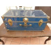 Baul Antiguo Beliz Petaca ( Vintage Retro Antiguedad)
