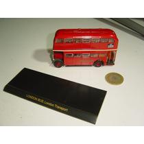 Juguete De Colección Autobus Camión Londres Transporte