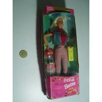Antigua Muñeca Barbie Coca Cola 1997