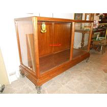 Mostrador - Vitrina Antigüo-madera Encino Americano