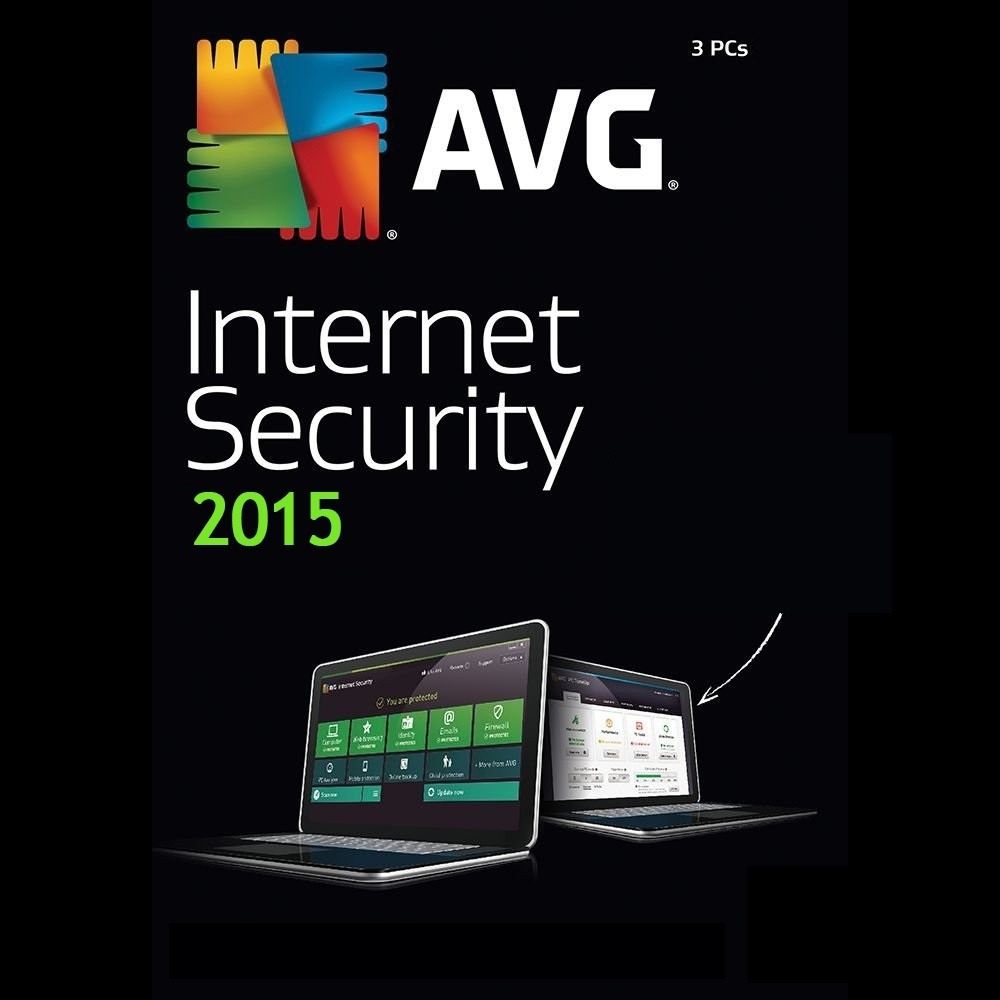 antivirus avg internet security 2015 para 3 pc 3 a os. Black Bedroom Furniture Sets. Home Design Ideas