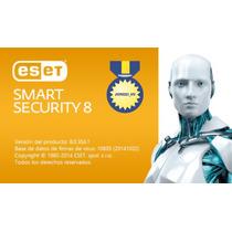 Eset Smart Security 8 - 1 Año 1 Computadora