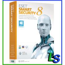 Eset Smart Security 8 - 1 Año 1 Computadora - Facturamos