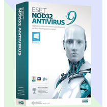Eset Nod32 Antivirus 9 - 1 Año 20 Computadoras - Facturamos