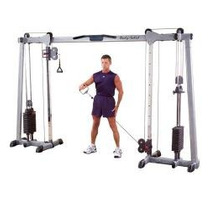 Gimnasio Completo Poleas Cable Banca Pesas Barra Css