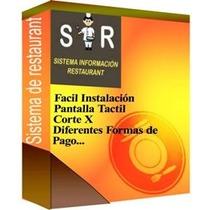 Sistema Para Restaurante Con Tableta
