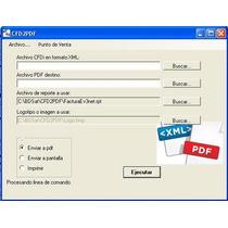Convertidor Xml A Pdf Automatico + Logotipo Factura Cfdi