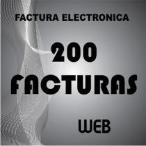 Factura Electrónica Web 200 Timbres O Facturas