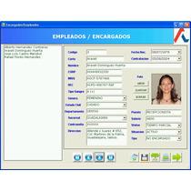 Sistema Control Actividades, Clientes, Cobros, Personal Rgl