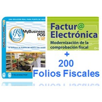 Facturación Electronica Cfdi My Business Pos2012+200 Folios
