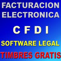 Facturacion Electronica Cfdi Con 300 Timbres