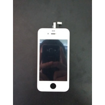 Lcd Pantalla Cristal & Touch Digitalizador Iphone 4g Blanco