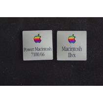 Apple Insertos De Plastico Con Le Logo Viejo De Mac