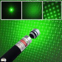 Puntero Láser Verde 2 En 1 Potente 5mw Punto Y Estrellas Luz