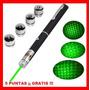 Apuntador Láser Verde 50 Mw 15 Km Multipuntos + Regalos Vv4