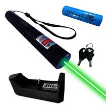 Laser 200mw Metalico Y Llave De Seguridad Bateria Recargable