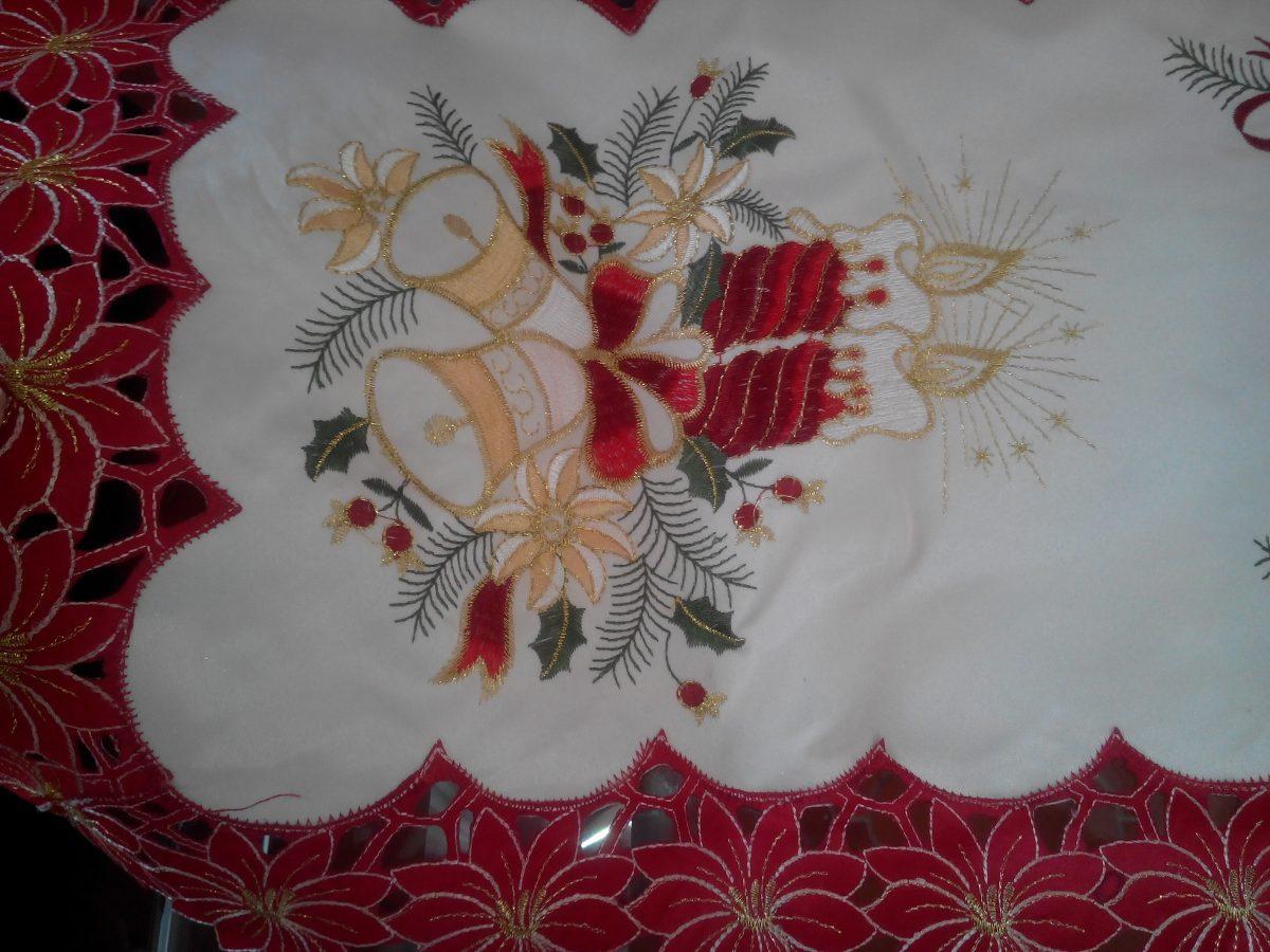 M s de 1000 im genes sobre manteles caminos de mesa - Manteles para navidad ...