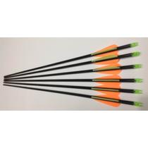 6 Flechas Fibra D Vidrio Puntas Intercambiables Mn4