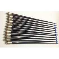 12 Flechas Fibra Vidrio Basicas Para Arco 30