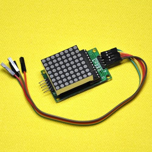 Arduino: Display De Matriz De Led Con Max7219 De 8x8 Leds