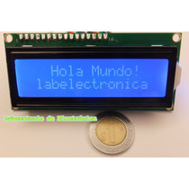 Paquete 5 Pantallas Lcd 16x2 Compatible Arduino, Pic,mcu