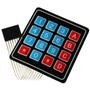 Teclado Matricial 4x4 Arduino Uno Mega Nano Pic Compatible