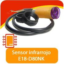 Sensor Infrarrojo Distancia E18 Robot Sumo Pic Arduino Avr