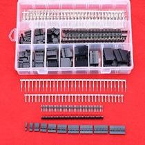 Hilitchi 515 Pcs 40 Pin 2.54mm Pitch De Una Fila Pin Cabezal