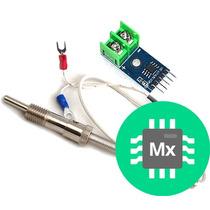 Termopar Tipo +k Y Módulo Max6675 Sensor Temperatura