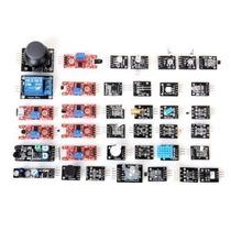 Kit De 37 Sensores Arduino, Raspberry, Pic Con Estuche