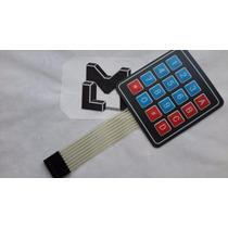 Teclado Matricial 4x4 Arduino, Pic, Avr, Plc.