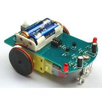Robot Seguidor De Linea Kit Proyecto Armado O Armar