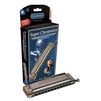 Armonica Hohner Super Chromonica Instrumento Musical Hm4