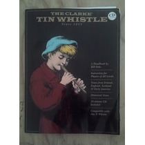 Metodo Flauta Irlandesa Tin Whistle Feadog Con Cd