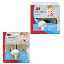 Kit Bordes De Protección Bebés Gris Child Safety 3m