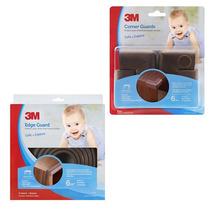 Kit Bordes De Protección Bebés Café Child Safety 3m