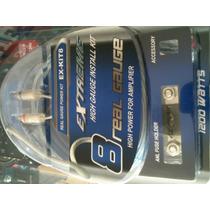Kit De Cables Para Amplificador Extreme 8 Gauge
