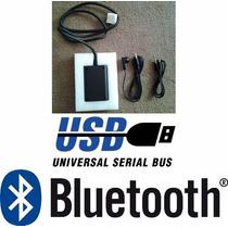 Auxiliar Manos Libres Bluetooth Usb Mazda 3 Año 2003 A 2013