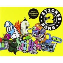 Sticker Bomb 2 Libro De 280 Pegatinas Calcamonias Diseño Art