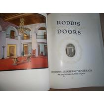 Catalogo De Puertas Ornamentales 1920s Ingles Roodis Lumber