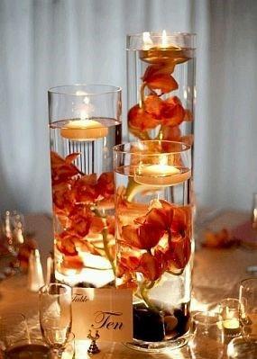 Arreglo de flores sumergido centro de mesa para boda - Precios de centros de mesa para boda ...