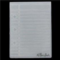 Scrapbook Folder Paper The Studio Repujado Hoja De Cuaderno