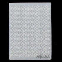Scrapbook Folder The Paper Studio Para Repujado Estrellitas