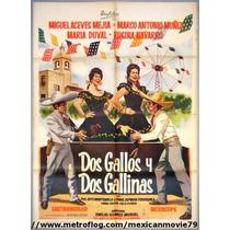Miguel Aceves Mejia En: Dos Gallos Y Dos Gallinas