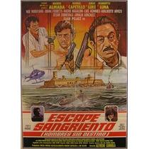 Mario Almada En: Escape Sangriento