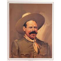 Pancho Villa Poster Tradicional Mexicano Jesus Helguera