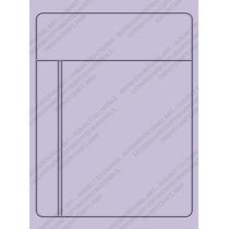 Scrapbook Cuttlebug Folder Repujado Journaling Card Sizzix